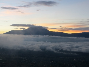 Cotacachi Volcano, a minute later